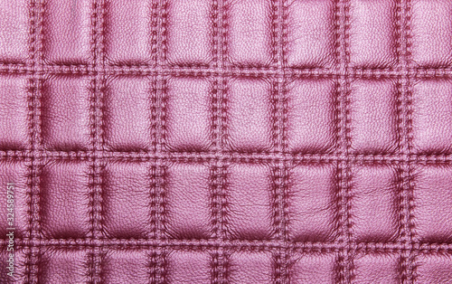 Obraz na plátne purple embossed leather background texture