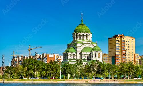 Saint Vladimir cathedral in Astrakhan, Russia Wallpaper Mural