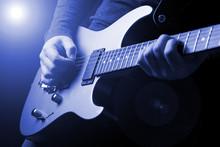 Musician Rock Guitarist Playin...