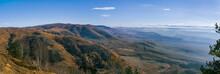 Autumn Mountain Panorama With ...