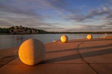 Lake Natoma Long Exposure On A Sunny Day