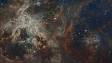4k Space Flight Into A Star Fi...