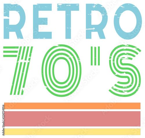 Fotografie, Tablou retro vintage grunge 70's style