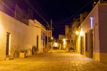 Street View Of Queretaro Under...