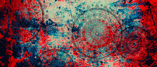 Mandala Colorful Vintage Art, ...