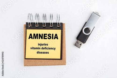 Amnesia Canvas Print