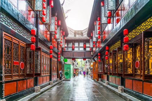 Old street of Jinli ancient town, Chengdu.. © 昊 周