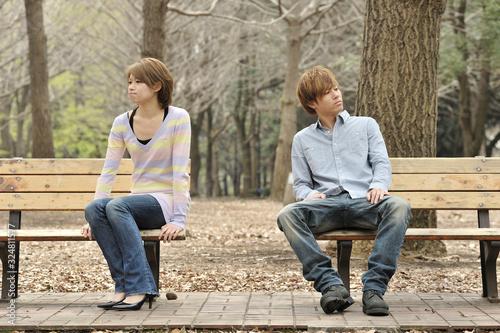 Photo けんかするカップル