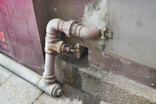 Water Pipes Are Made Of Old St...