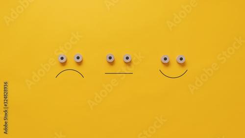Obraz Conceptual image of quality and feedback - fototapety do salonu