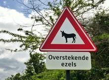 Bonaire – Donkey Crossing Road Sign