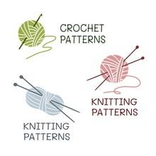 Crochet Patterns. Knitting Pat...