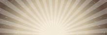 Sepia Radial Stripes Background