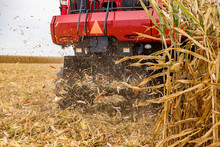 Closeup Of Chaff Spreader On C...