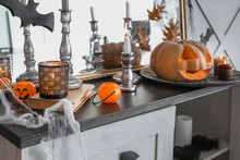 Decor For Halloween Party On C...