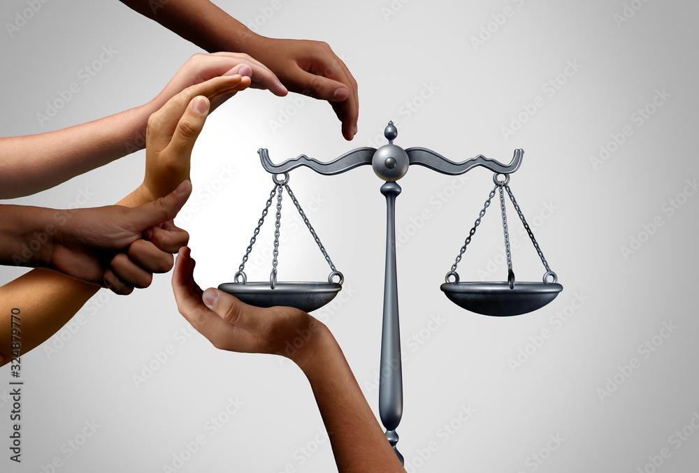 Fototapeta Diverse Social Justice