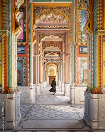 Jaipur India colorful architecture