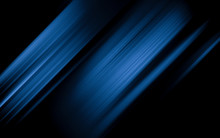 Abstract Blue And Black Are Li...