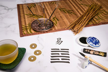I Ching Arrangement With A Han...