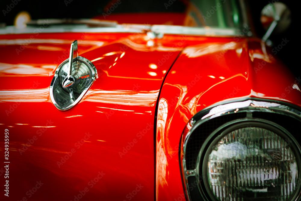 Fototapeta Old classic car.