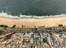 Aerial View Of Copacabana Beac...