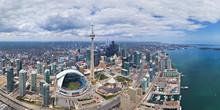 Panoramic Aerial View Of Build...