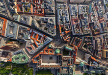 Aerial View Of Michaelerplatz,...