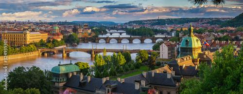 Aerial view of city of Prague - 324939301