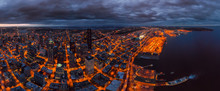Panoramic Aerial View Of The C...