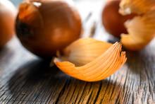 View Of Onion Peel