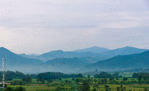 Fototapeta landscape in the mountains obraz na płótnie