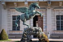 Skulptur Pegasus Im Mirabellga...