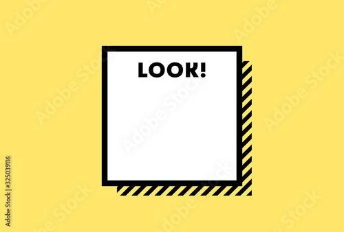 メモ・警告・危険・防災イメージ素材:黄色と黒のシンプルな注意喚起用の背景素材 Wallpaper Mural