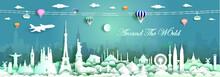Travel Landmarks World With Ci...