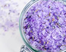 Purple Bath Salt (foot Soak) W...