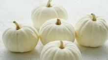 White Small Pumpkins