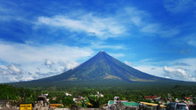 Mayon Volcano Or Mt. Mayon Is ...
