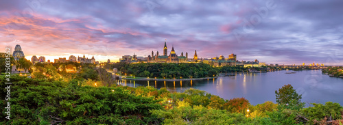 Parliament Hill in Ottawa, Ontario, Canada Canvas