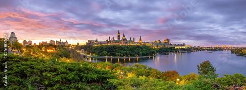 Parliament Hill in Ottawa, Ontario, Canada