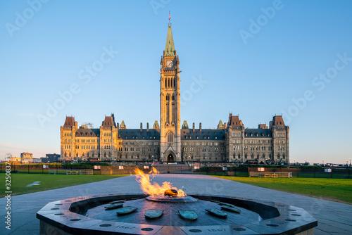 Fotografija Parliament Hill in Ottawa, Ontario, Canada