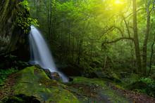 Beautiful Waterfall In Nationa...