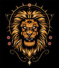 Vector Color Lion Illustration - The Lion Logo