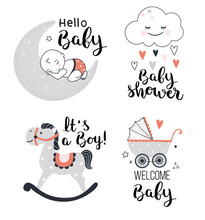 Baby Shower Posters, Welcome B...