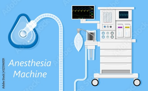 anesthesia anaesthesia medical surgery operation intensive care unit Canvas Print