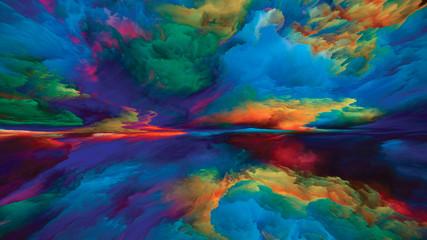 Panel Szklany Podświetlane Wschód / zachód słońca Magic of Dreamland