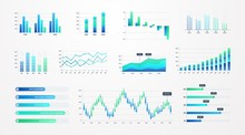 Histogram Charts. Business Inf...