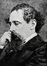 Charles Dickens Portrait From A Tale Of Two Cities 1922