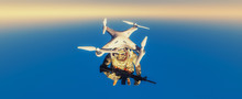 Drone Used By The Military For...