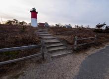 Nauset Lighthouse At Sunset - ...
