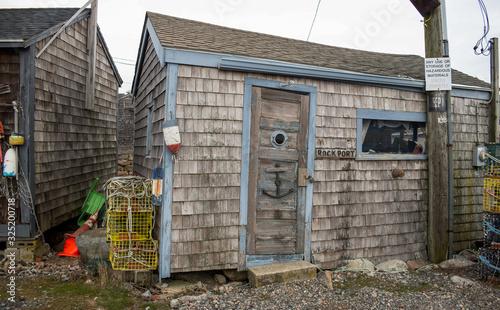 Photo Businesses in Bearskin Neck, Rockport, Massachusetts.
